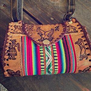 🎉Host pick🎉 Handcrafted crossbody Peruvian bag